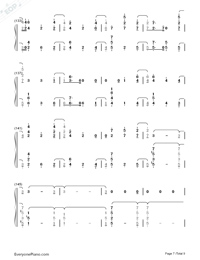 At My Weakest-James Arthur-Numbered-Musical-Notation-Preview-7