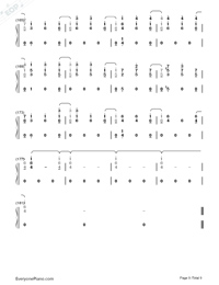 At My Weakest-James Arthur-Numbered-Musical-Notation-Preview-9