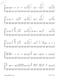 HandClap-Simple Version-Numbered-Musical-Notation-Preview-2