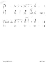 This Earth for You-Chikyuu o Ageru-Numbered-Musical-Notation-Preview-10