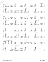 This Earth for You-Chikyuu o Ageru-Numbered-Musical-Notation-Preview-2