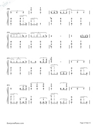 This Earth for You-Chikyuu o Ageru-Numbered-Musical-Notation-Preview-4