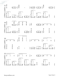 This Earth for You-Chikyuu o Ageru-Numbered-Musical-Notation-Preview-6