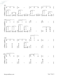 This Earth for You-Chikyuu o Ageru-Numbered-Musical-Notation-Preview-7