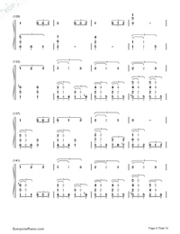 This Earth for You-Chikyuu o Ageru-Numbered-Musical-Notation-Preview-9
