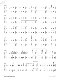 I'll Be There-Jess Glynne-Numbered-Musical-Notation-Preview-3