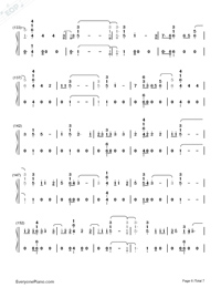 I'll Be There-Jess Glynne-Numbered-Musical-Notation-Preview-6