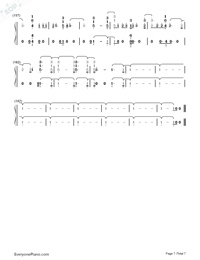 I'll Be There-Jess Glynne-Numbered-Musical-Notation-Preview-7