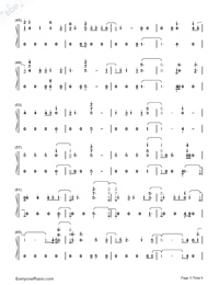 Don't Say You Love Me-Fifth Harmony Numbered Musical Notation Preview 3