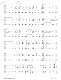 Don't Say You Love Me-Fifth Harmony Numbered Musical Notation Preview 4