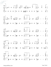 Don't Say You Love Me-Fifth Harmony Numbered Musical Notation Preview 5