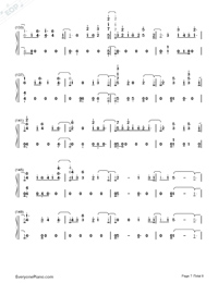 Don't Say You Love Me-Fifth Harmony Numbered Musical Notation Preview 7