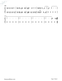Mutual-Shawn Mendes-Numbered-Musical-Notation-Preview-3