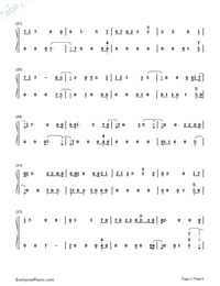 If Our Love Is Wrong-Calum Scott Numbered Musical Notation Preview 2