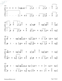 If Our Love Is Wrong-Calum Scott Numbered Musical Notation Preview 3