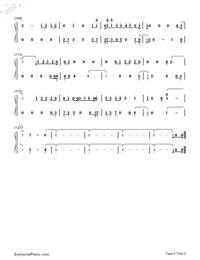 If Our Love Is Wrong-Calum Scott Numbered Musical Notation Preview 6
