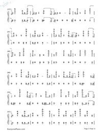 Anpanman-BTS-Numbered-Musical-Notation-Preview-3