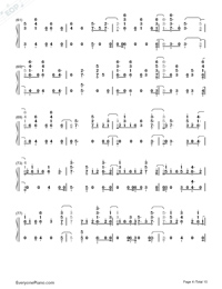 Anpanman-BTS-Numbered-Musical-Notation-Preview-4