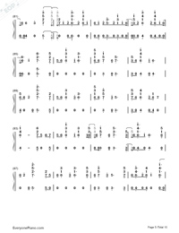 Anpanman-BTS-Numbered-Musical-Notation-Preview-5