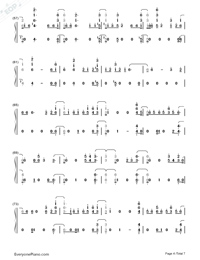 Say Amen Saturday Night-Panic at the Disco-Numbered-Musical-Notation-Preview-4