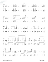 Say Amen Saturday Night-Panic at the Disco-Numbered-Musical-Notation-Preview-5