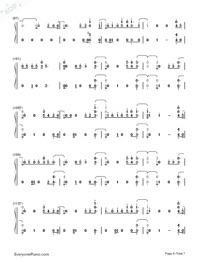 Say Amen Saturday Night-Panic at the Disco-Numbered-Musical-Notation-Preview-6