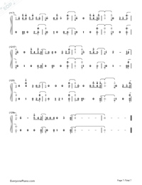 Say Amen Saturday Night-Panic at the Disco-Numbered-Musical-Notation-Preview-7