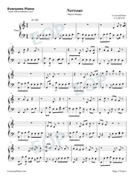 Nervous Shawn Mendes Free Piano Sheet Music Piano Chords
