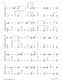 Bitches-Tove Lo-Numbered-Musical-Notation-Preview-2
