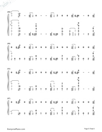 Bitches-Tove Lo-Numbered-Musical-Notation-Preview-6