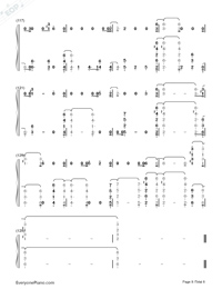 Bitches-Tove Lo-Numbered-Musical-Notation-Preview-8