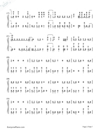 High Hopes-Panic at the Disco-Numbered-Musical-Notation-Preview-2