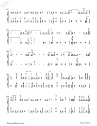 High Hopes-Panic at the Disco-Numbered-Musical-Notation-Preview-3