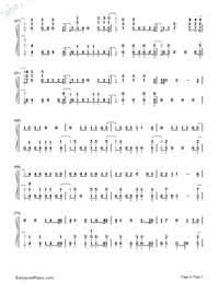 High Hopes-Panic at the Disco-Numbered-Musical-Notation-Preview-4