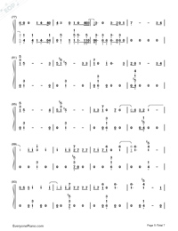 High Hopes-Panic at the Disco-Numbered-Musical-Notation-Preview-5
