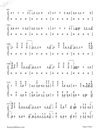 High Hopes-Panic at the Disco-Numbered-Musical-Notation-Preview-6