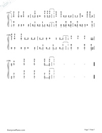 High Hopes-Panic at the Disco-Numbered-Musical-Notation-Preview-7