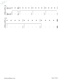 Like To Be You-Shawn Mendes Ft Julia Michaels-Numbered-Musical-Notation-Preview-5