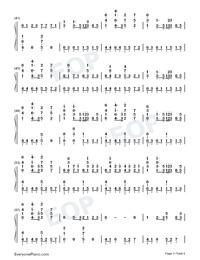 Darkside-Alan Walker Free Piano Sheet Music & Piano Chords