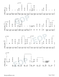 Exodus-Maksim Mrvica-Numbered-Musical-Notation-Preview-2
