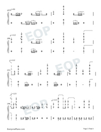 Exodus-Maksim Mrvica-Numbered-Musical-Notation-Preview-3