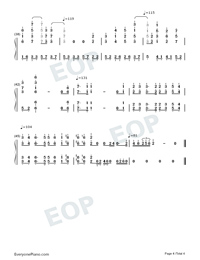 Exodus-Maksim Mrvica-Numbered-Musical-Notation-Preview-4