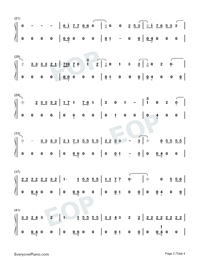 Hard 2 Face Reality-Poo Bear ft Justin Bieber ft Jay Electronica Numbered Musical Notation Preview 2