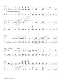 A Million Dreams-Perfect Version-Numbered-Musical-Notation-Preview-5