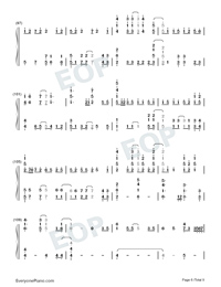 A Million Dreams-Perfect Version-Numbered-Musical-Notation-Preview-6
