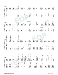 A Million Dreams-Perfect Version-Numbered-Musical-Notation-Preview-8