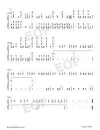 A Million Dreams-Perfect Version-Numbered-Musical-Notation-Preview-9