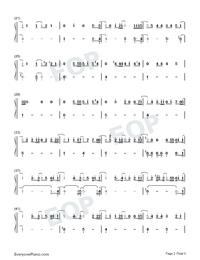 Sekai wa Anata ni Waraikaketeiru-Numbered-Musical-Notation-Preview-2