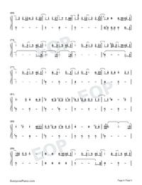 Sekai wa Anata ni Waraikaketeiru-Numbered-Musical-Notation-Preview-4