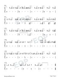 Sekai wa Anata ni Waraikaketeiru-Numbered-Musical-Notation-Preview-5